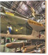 Republic F-105 Thunderchief Wood Print
