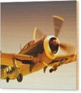 Republic P-47 Thunderbolt 2011 Chino Air Show Wood Print