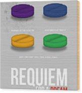 Requiem For A Dream Wood Print