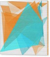 Research Polygon Pattern Wood Print