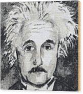 Resemblance To Einstein Wood Print