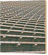 Reserved Seats Wood Print
