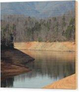 Reservoir Down Wood Print