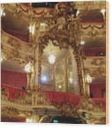 Residenz Theatre 5 Wood Print