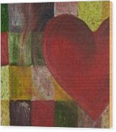 Resilience After Jim Dine Wood Print