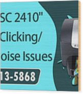 Resolve Hp Psc 2410 Scanner Clicking Grinding Noise Issues Wood Print