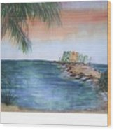 Resort The Keys Wood Print
