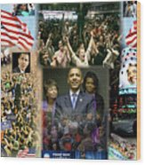 Respectfully Yours..... Mr. President Wood Print by Terry Wallace