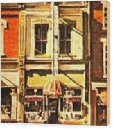 Restaurant II Wood Print