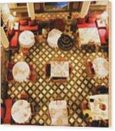 Restaurant Palais Des Merinides Fes Morocco Paint  Wood Print