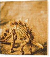 Restoration In Extinction  Wood Print