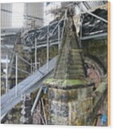 Restoration Rosslyn Chapel Wood Print