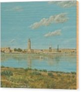 Rethymno Harbour - Crete Wood Print