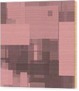 Reticulation 005 Wood Print