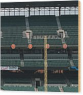 Retired Numbers Of The Orioles Greatest Ever Wood Print