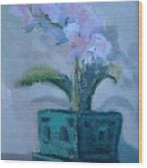 Retirement Orchid...SOLD Wood Print