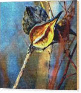 Retirement Watercolor Wood Print