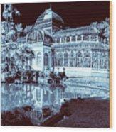 Retiro Park Crystal Palace Wood Print