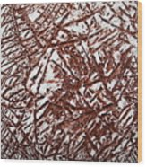 Retreating - Tile Wood Print