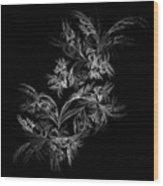 Retro. Wb Wood Print
