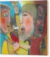 Return Of The Prodigal Son Wood Print