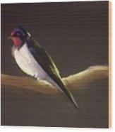 Returning Swallow Wood Print