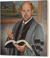 Rev. Jeff Garrison Wood Print