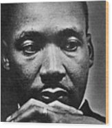 Rev. Martin Luther King Jr. 1929-1968 Wood Print by Everett
