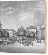 Revolution Of Geneva 1846 Place Bel-air Wood Print