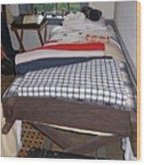 Revolutionary War Bedroom Wood Print