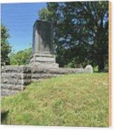 Revolutionary War Monument  Wood Print