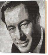 Rex Harrison, Vintage Hollywood Legend Wood Print