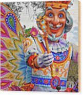 Rex Rides In New Orleans Wood Print