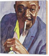 Rex Stewart Jazz Man Wood Print