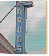 Rexall Drugs Wood Print