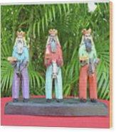 Reyes Infantiles Wood Print