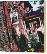 Reynolds Tavern Annapolis Wood Print