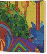 Rfb0509 Wood Print