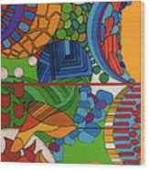 Rfb0515 Wood Print