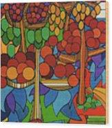 Rfb0528 Wood Print
