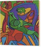Rfb0550 Wood Print