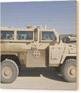 Rg-31 Nyala Armored Vehicle Wood Print