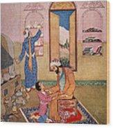 Rhazes, Islamic Polymath Wood Print