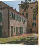 Rhett House Grounds Wood Print