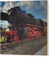 Rhineland-palatinate Locomotive Wood Print