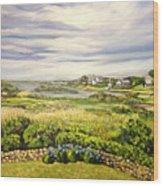 Rhode Island Coast Wood Print