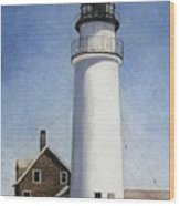 Rhode Island Lighthouse Wood Print