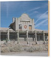 Rhyolite Station Wood Print