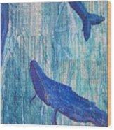 Rhythm And Blues Wood Print
