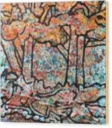 Rhythm Of The Forest Wood Print